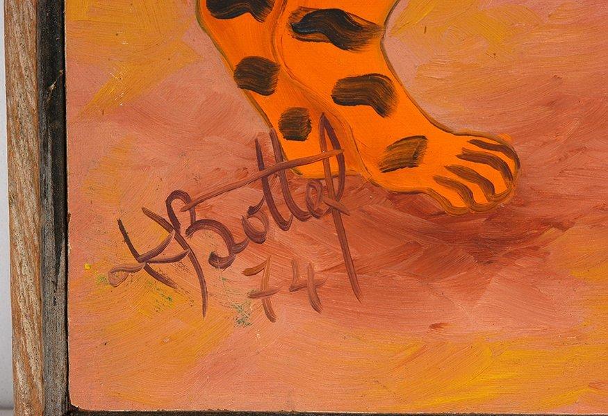 K. Bottef. Two Leopards. - 2