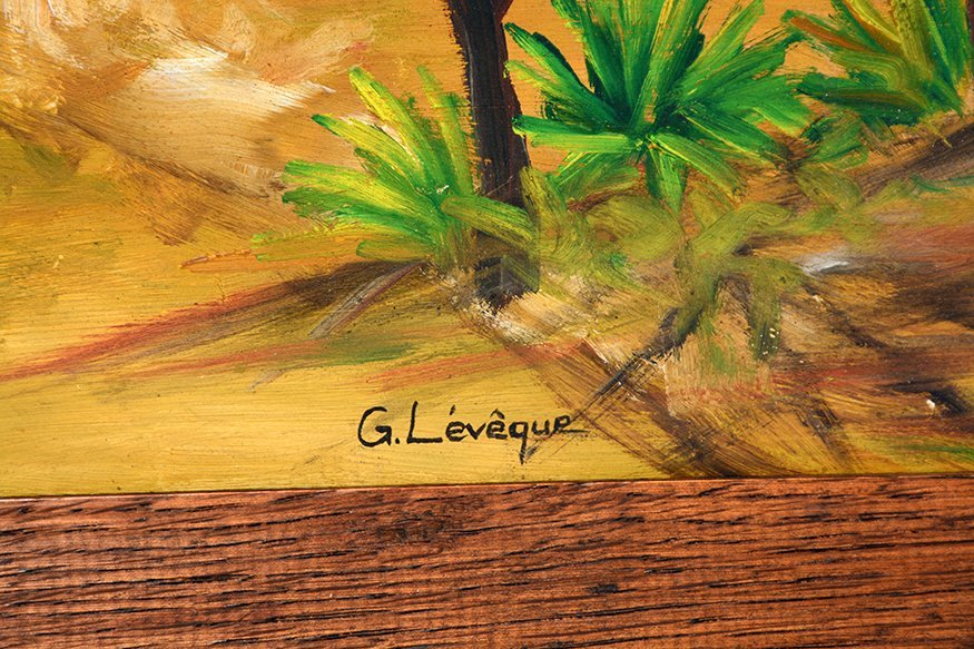 G. Leveque. Working In The Fields. - 2