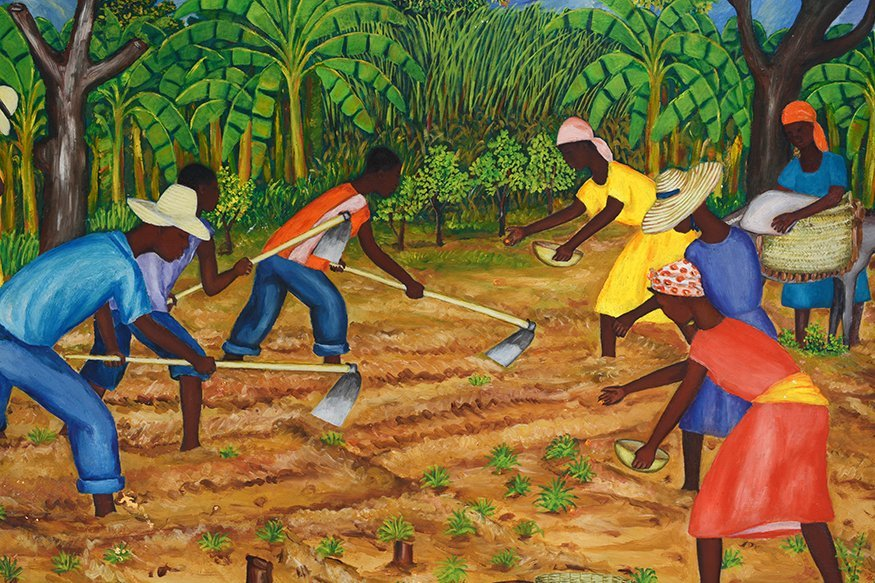 G. Leveque. Working In The Fields. - 3