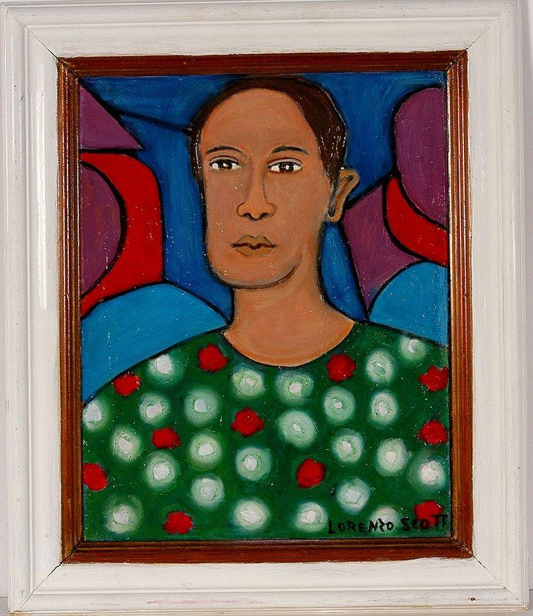 Lorenzo Scott. Woman In Green.