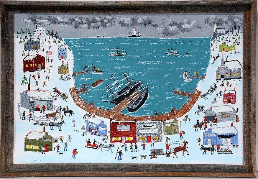 Ed McGrath. New England Sea Port.