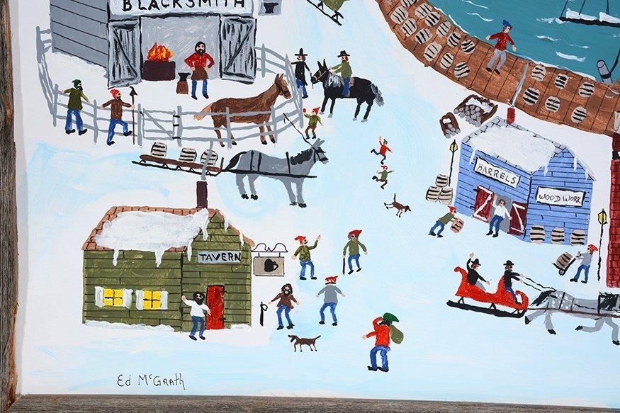 Ed McGrath. New England Sea Port. - 2