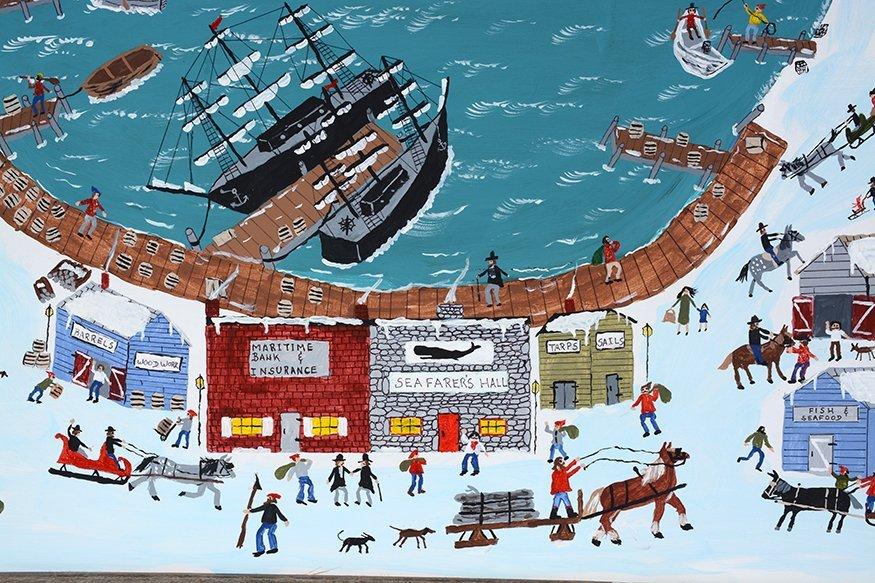 Ed McGrath. New England Sea Port. - 3