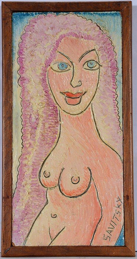 Jack Savitsky. Nude Woman.