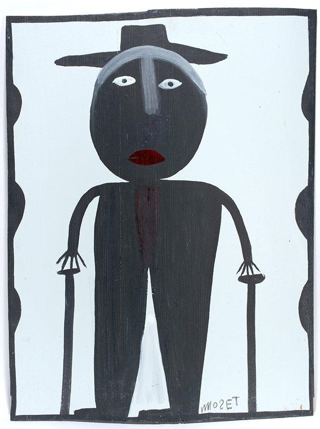 Mose Tolliver (attrib). Self-Portrait.
