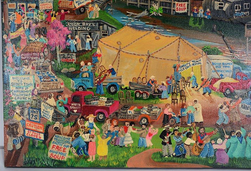 Carol Salas. Shanty Town Revival. - 2