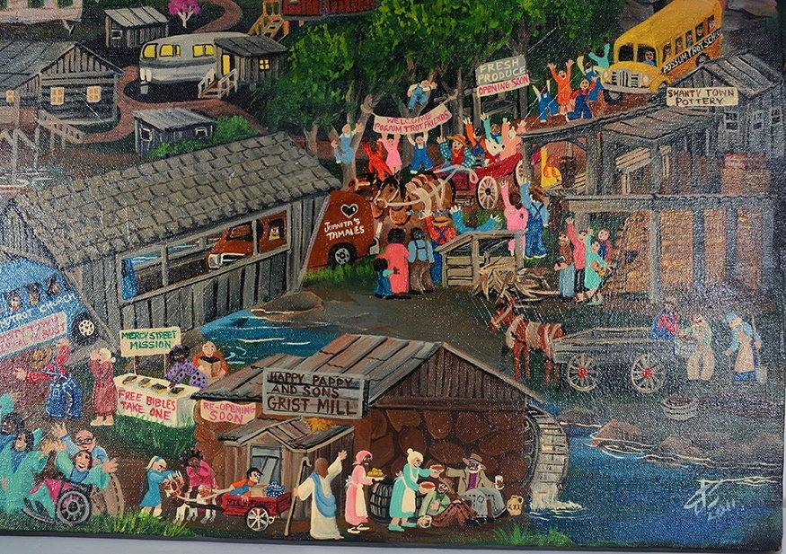Carol Salas. Shanty Town Revival. - 3