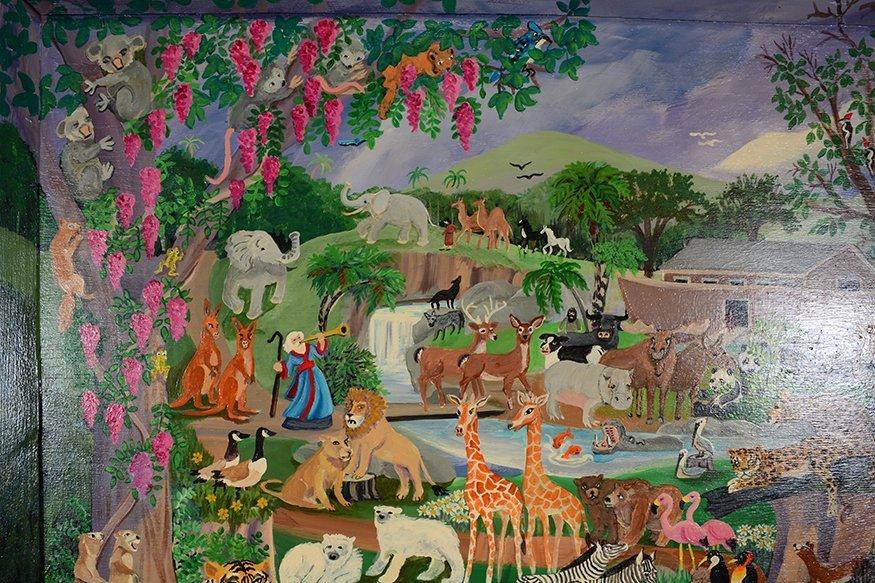 Carol Salas Noah's Ark Before The Flood. - 3