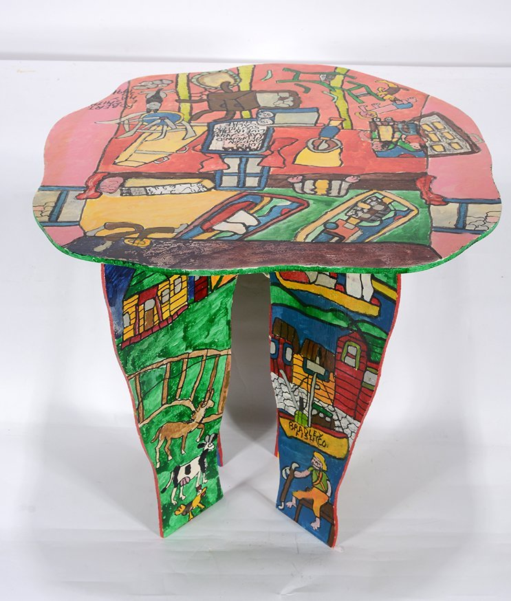 Robert Smith. Decorated Table.