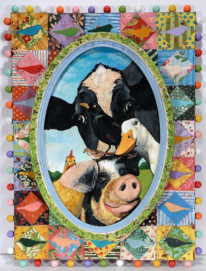 Jim Lambert. Cow & Pig.