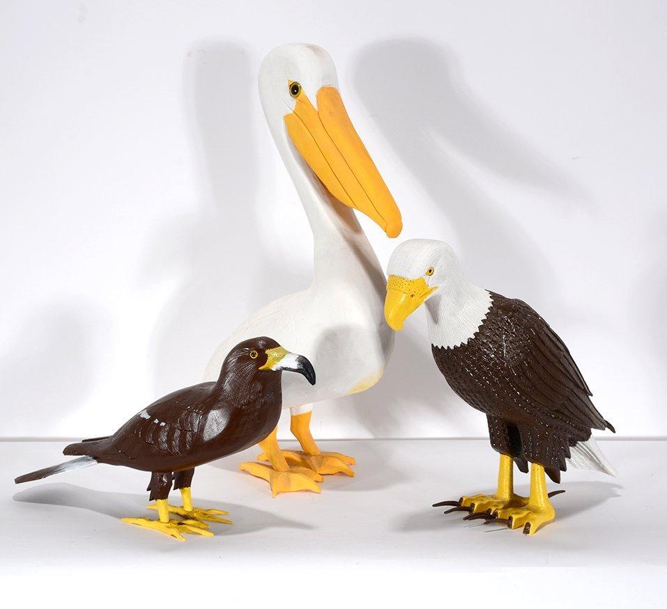 Ivy Billiot. Pelican, Eagle & Hawk.