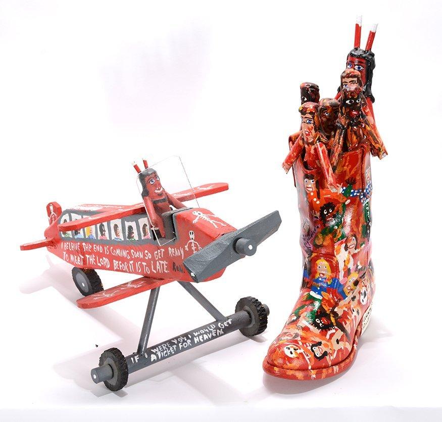 Ronald Cooper. Devil Boot & Plane.