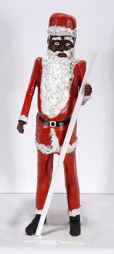 Onis Woodard. Large Santa.