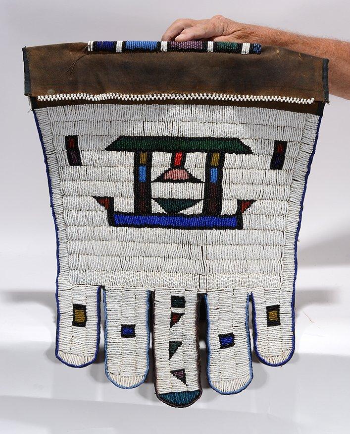 African Beaded Skirt.
