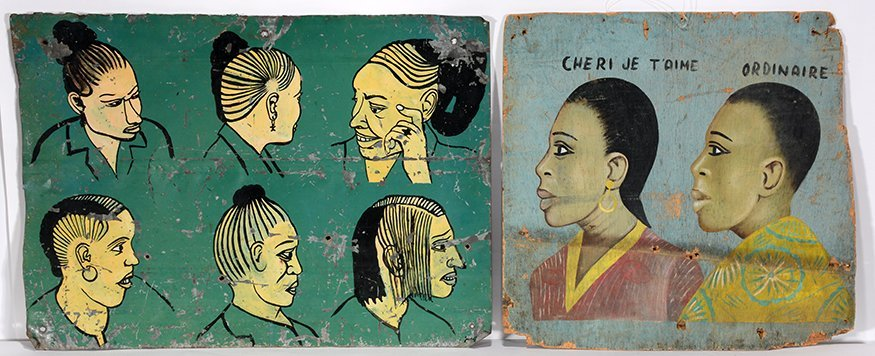 Nigerian Hair Style Signs.
