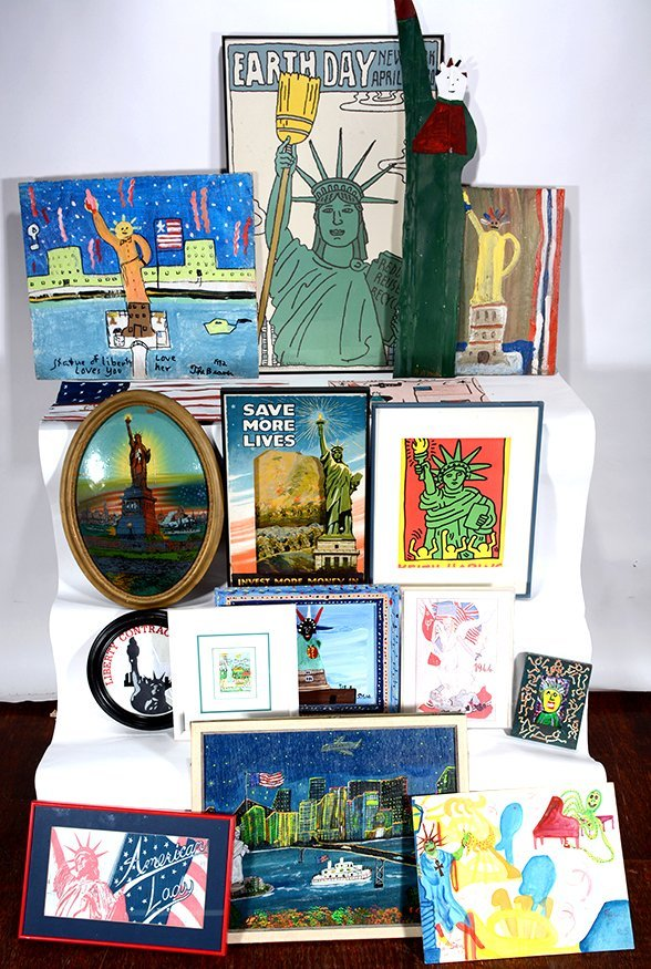 Mixed Artists Statue Of Liberty Collection.