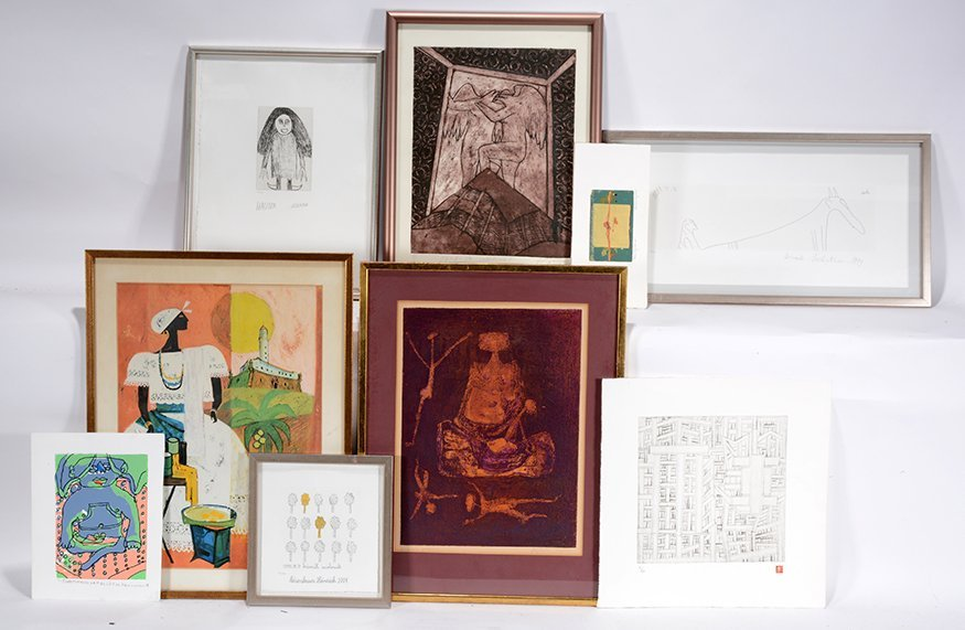 Nine Prints by Unknown Artists.