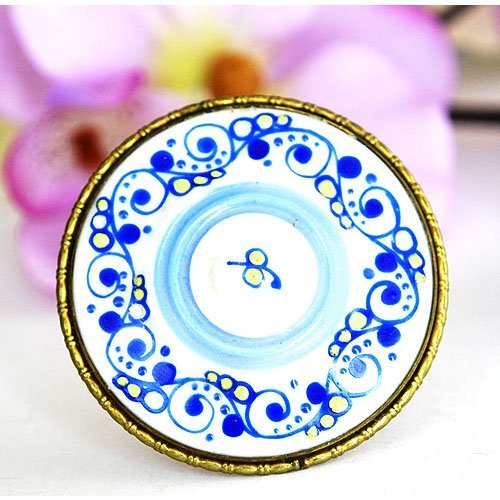 Vintage ROSENSTALE Brooch, Made From Porcelain