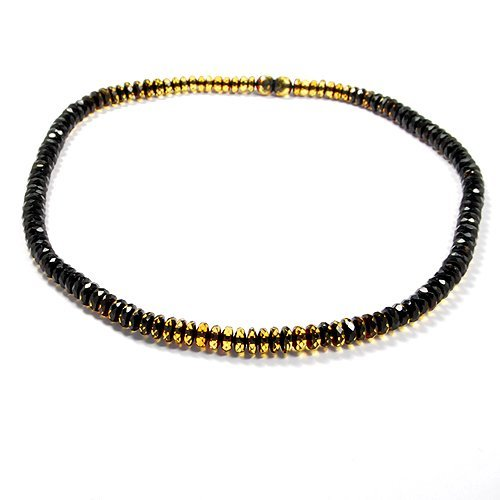 Faceted Two Shades Baltic Amber - Beautiful Amber