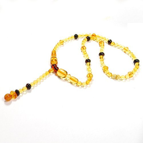 Handcrafted Necklace Made From Nice Colors Baltic
