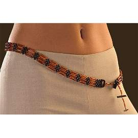 Genuine Baltic Amber Belt Made From Honey And Co