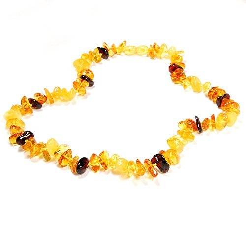 Irresistible Handcrafted Necklace Made From Amber