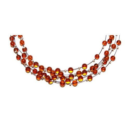 Rain Collection Necklace From Baltic Amber