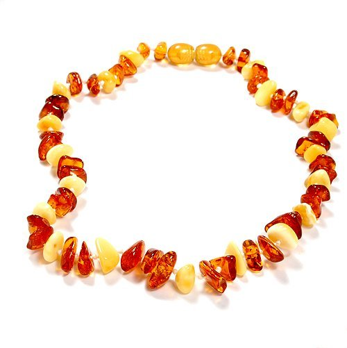 Natural Baltic Amber Necklace For Babies