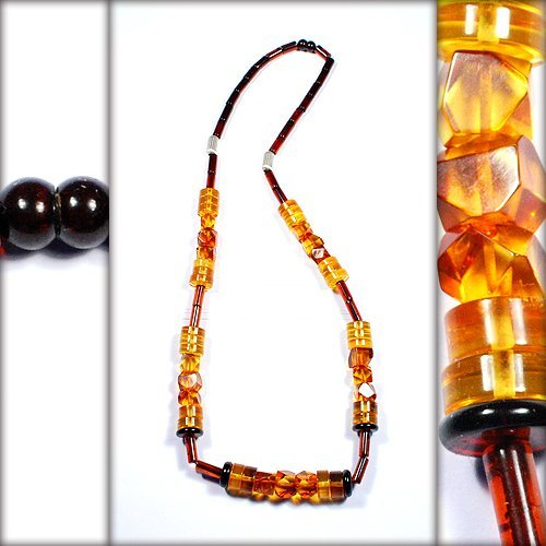 Honey And CognacColor Baltic Amber Beads - Extrao