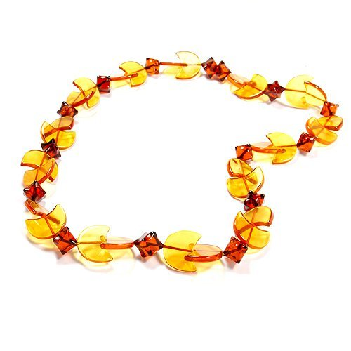 Beautiful Necklace Made From Genuine Baltic Amber