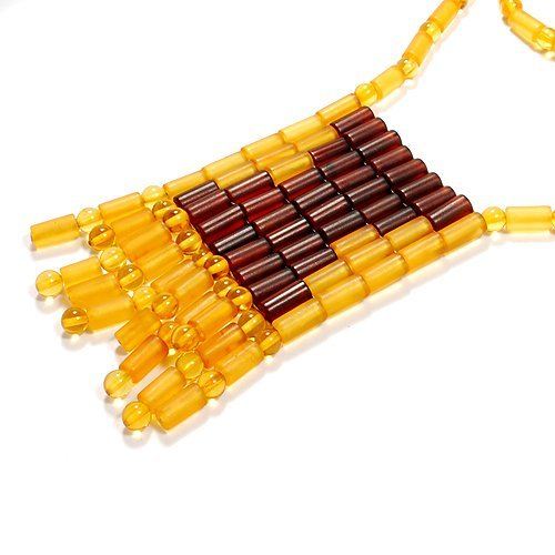 Gorgeous Necklace Made From Genuine Baltic Amber