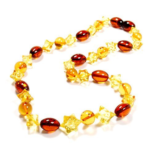 Nicety Made Baltic Amber Necklace. Delightful Top