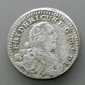Silver Coin - 1 Kreuzer, German Empire