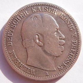 German Empire Silver Coin - 2 Mark.