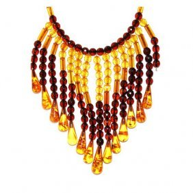 High Quality Hand Crafted Faceted Baltic Amber N