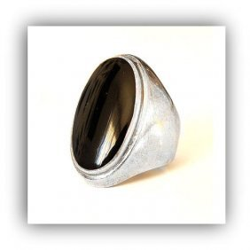 Beautiful Silver Ring From Germany, 925 Plate Mar