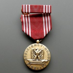 Medal Efficiency Honor Fidelity From United Stat