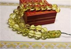 Delux Islam Prayer Beads 33 Round 13 mm Diam Ball