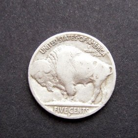Indiana Head - 5 Cents Coin From America