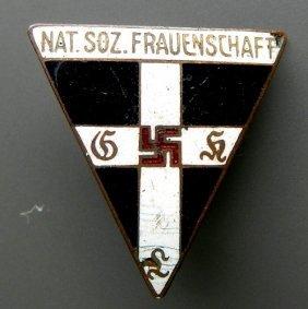 Germany - Iii Reich. Enamel, Metal Pin - Reward