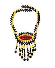 Amazing Necklace From Faceted Genuine Baltic Ambe