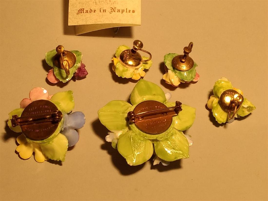 Vintage Lot of Pins Brooches Earrings - 3