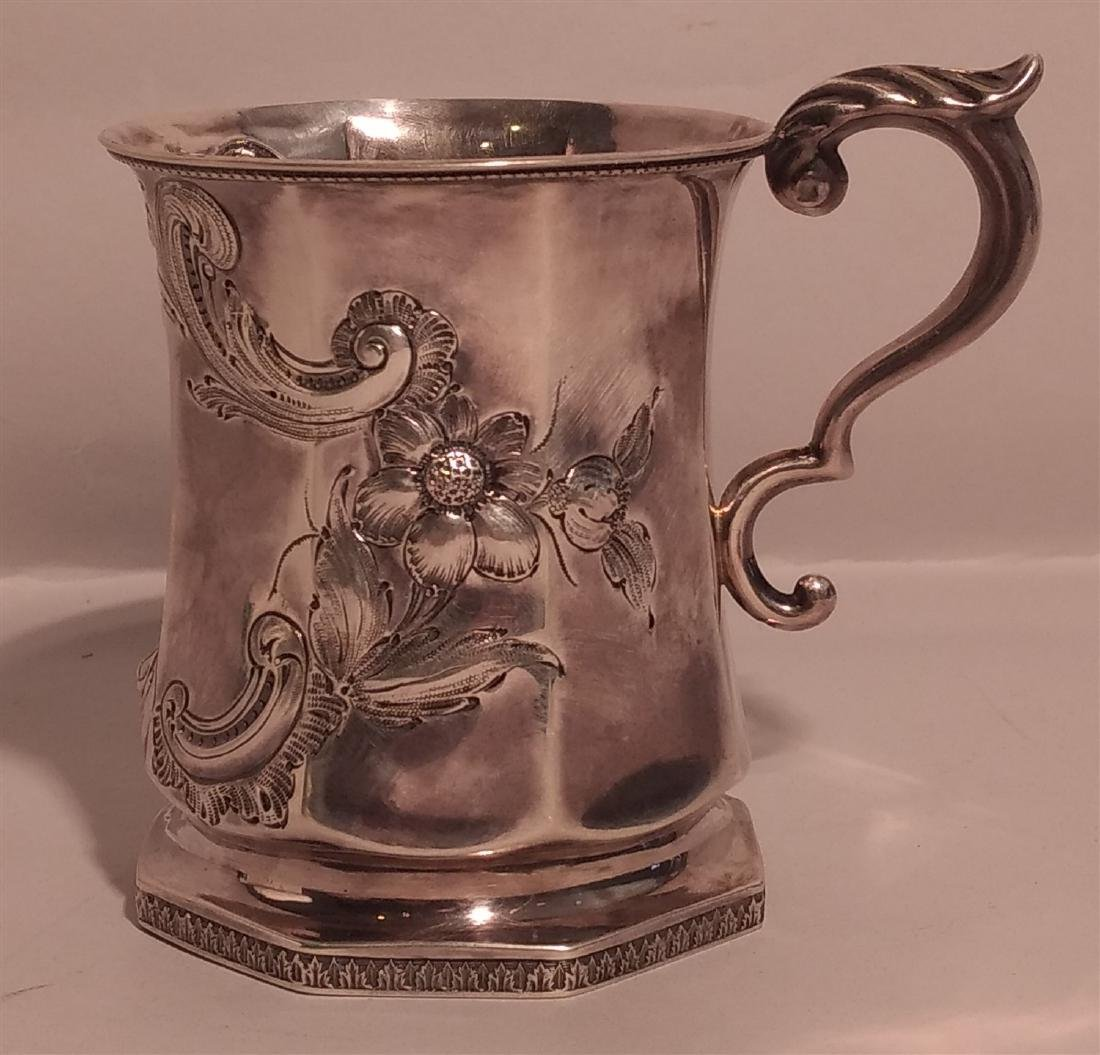 Victorian 1851 FWC Silver Goblet