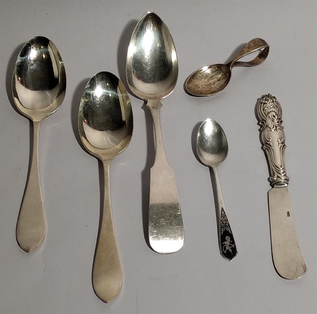 Antique Sterling Flatware Lot