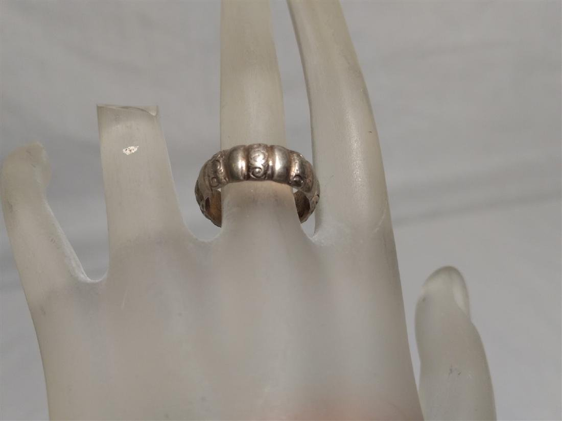 Sterling Silver Rings.  Grouping of Six. - 7