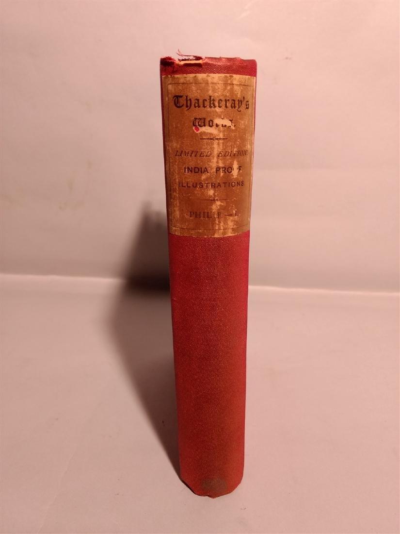 Antique Book 1883 The Adventures of Phillip