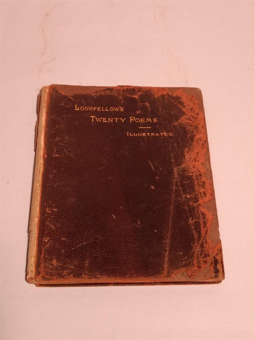 Antique Book 1884 Twenty Poems Henry Wadsworth