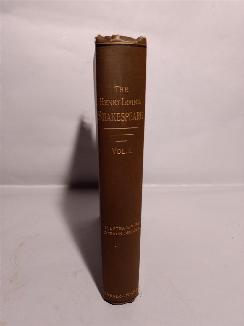Antique Book 1887 The Works of William Shakespeare