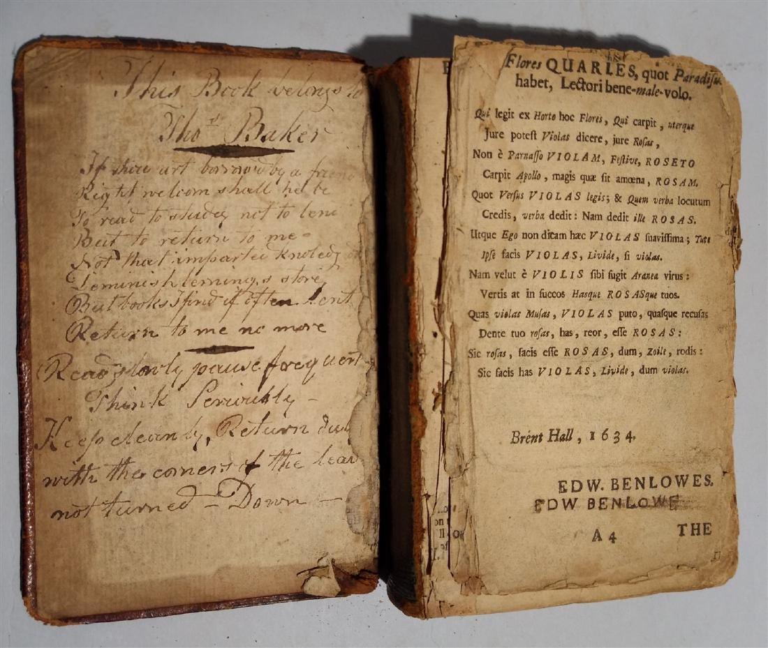 Antique Book 1634 Religious Book - 3