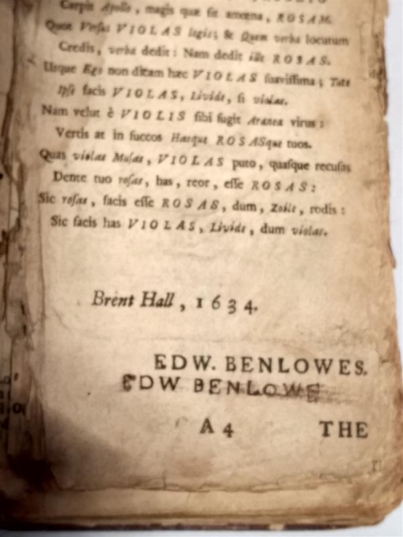 Antique Book 1634 Religious Book - 4